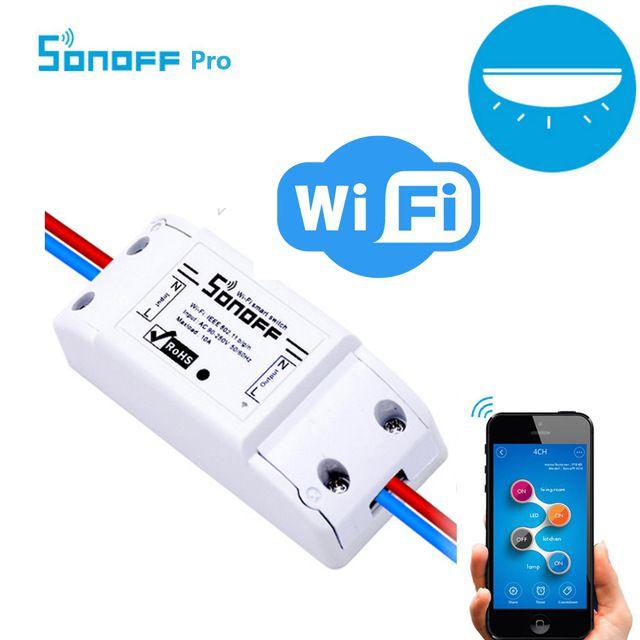 SONOFF BASIC - Беспроводной WiFi Выключатель Для Умного Дома