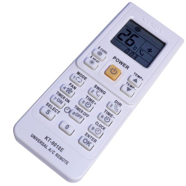 Универсальный пульт QUNDA KT-9018E белого цвета (4000 в 1)